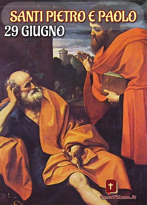 29 Giugno Santi Pietro e Paolo Vescovo e Martire bellissime immagini religiose