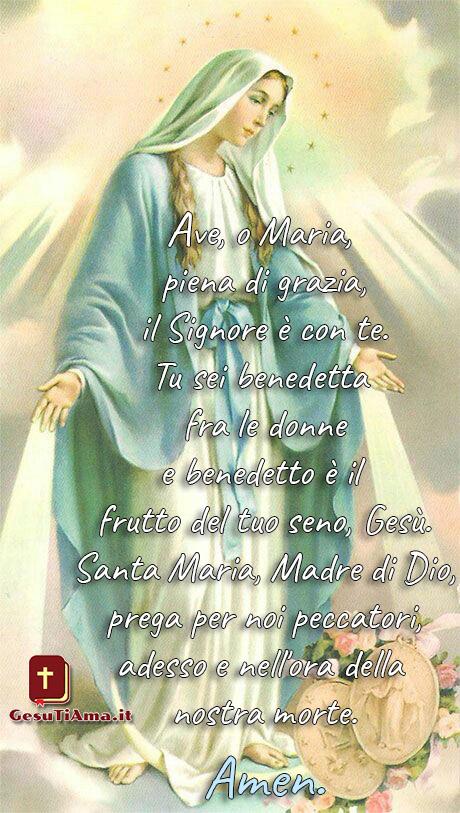 Ave Maria immagini foto preghiere da condividere