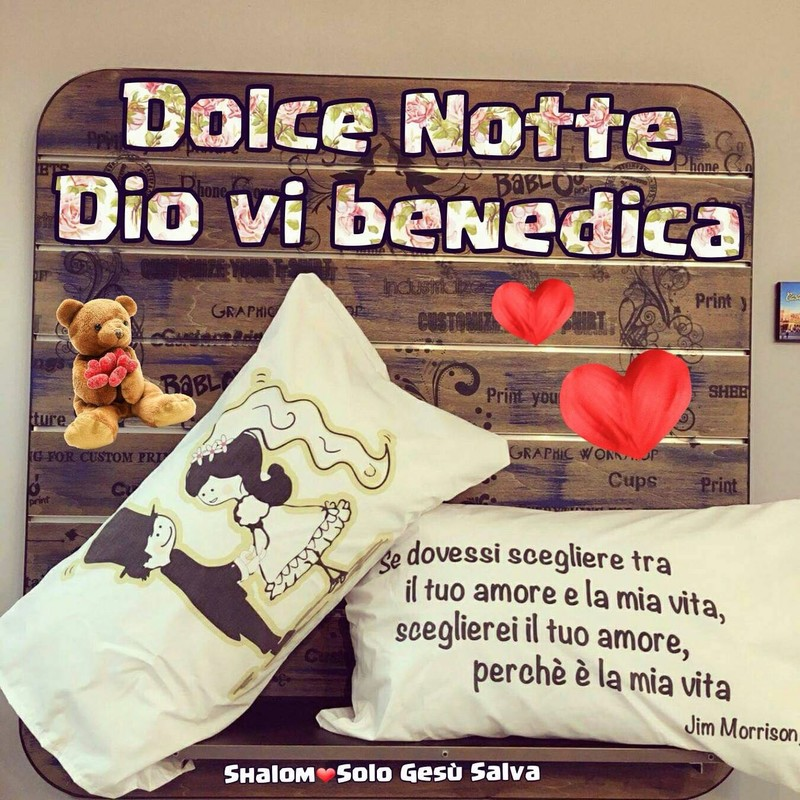 Dolce Notte Dio Ti Benedica 2469 Gesutiama It