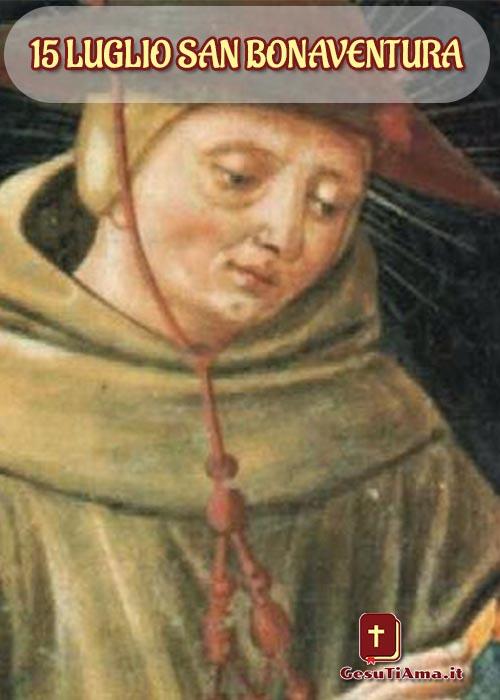 Risultati immagini per 15 Luglio San Bonaventura