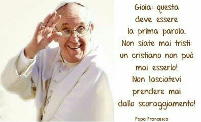 Frasi Di Natale Papa Francesco.Immagini Citazioni Del Papa Francesco Da Condividere