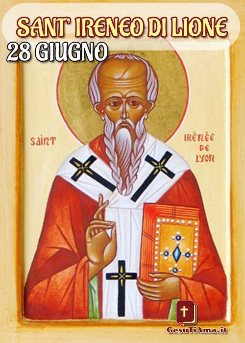 Oggi 28 Giugno è Sant'Ireneo di Lione immagini religiose Google