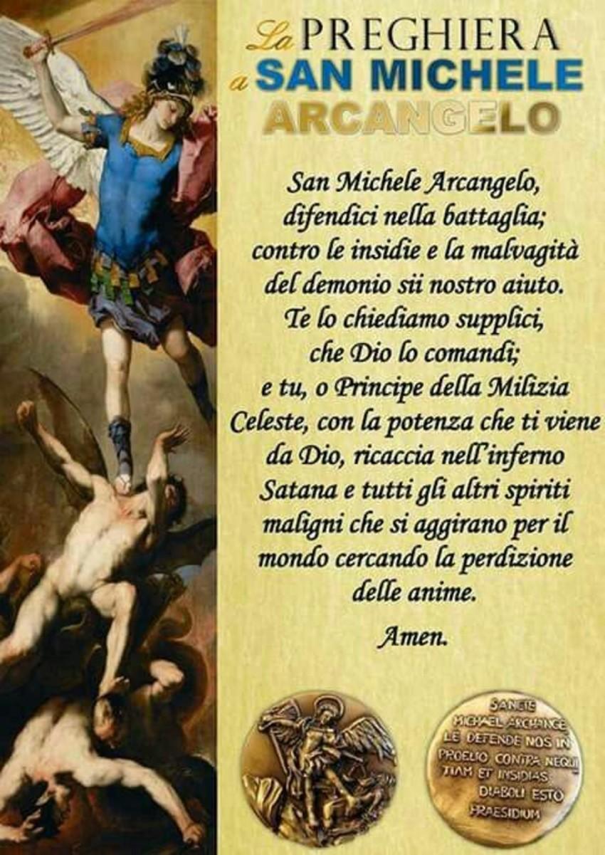 Preghiera San Michele Arcangelo da recitare di mattina