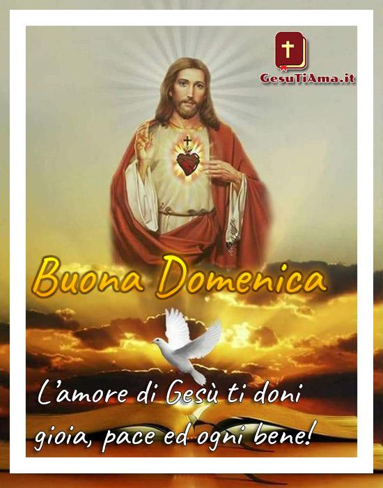 Buona Domenica Con Gesù Immagini Nuove Gesutiamait