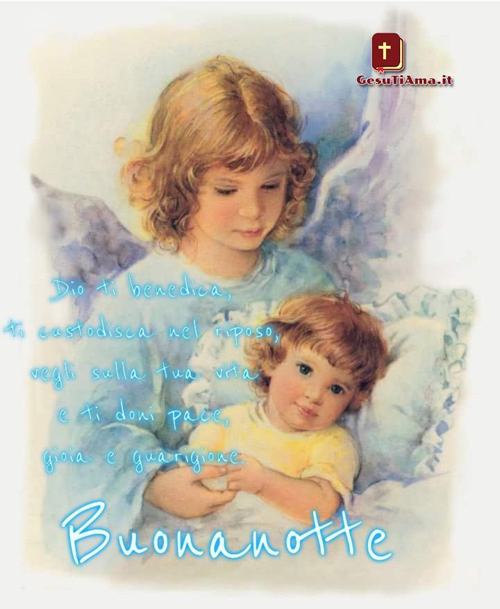 Immagini Buonanotte Con Angeli Gesutiama It