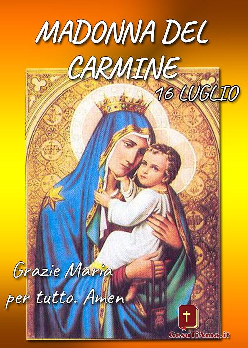 Madonna del Carmine immagini