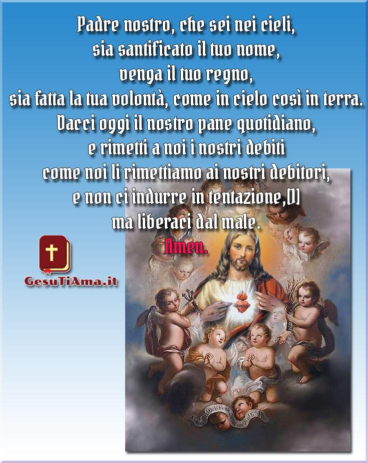 Padre Nostro Preghiere immagini belle da condividere