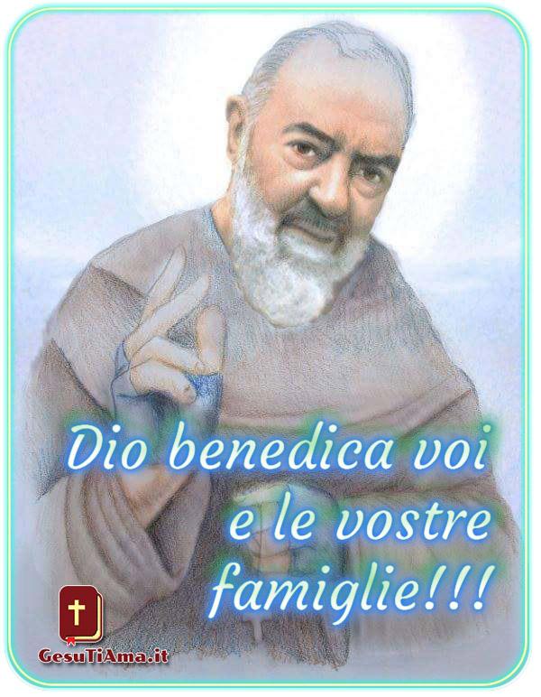 Benedizione di Padre Pio immagini belle religiose nuove