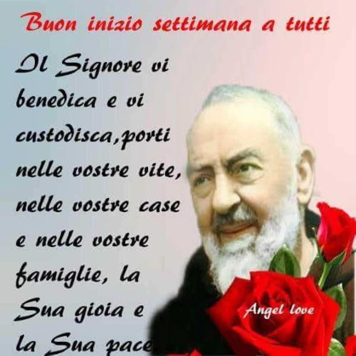 Buon Inizio Settimana Immagini Padre Pio Gesutiamait