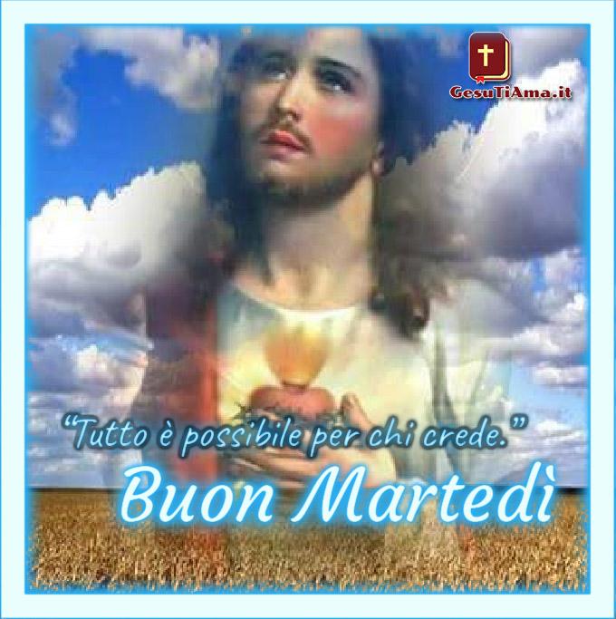 Buon Martedì con Gesù bellissime immagini