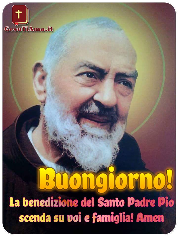 Buongiorno da Padre Pio immagini religiose nuove