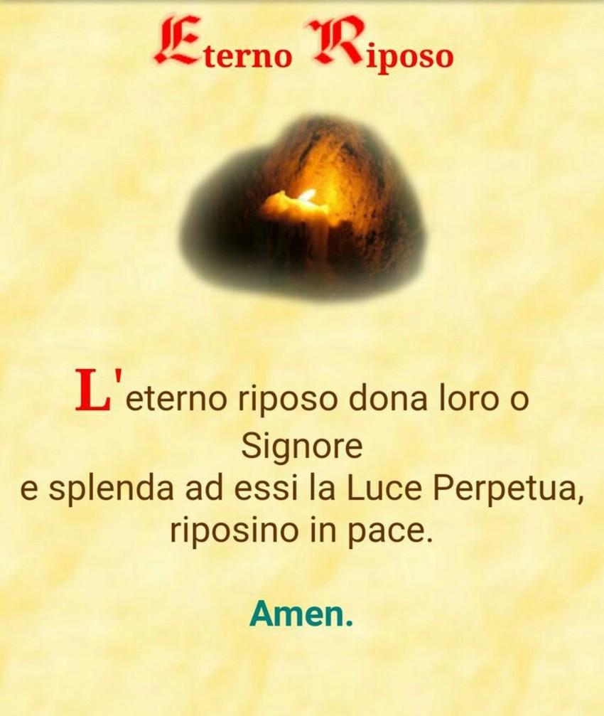 Eterno Riposo Preghiere per i defunti