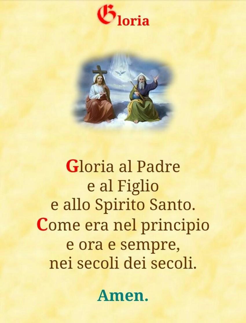 Gloria Preghiere in Italiano