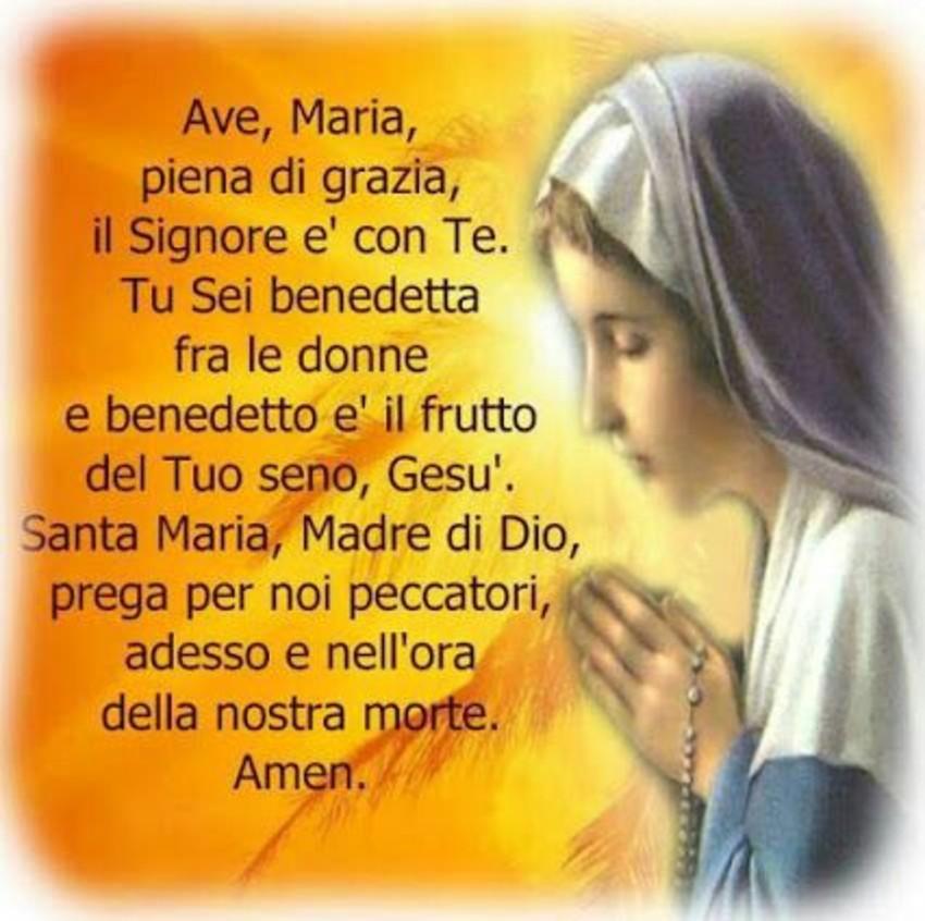 Immagini Preghiere Ave Maria