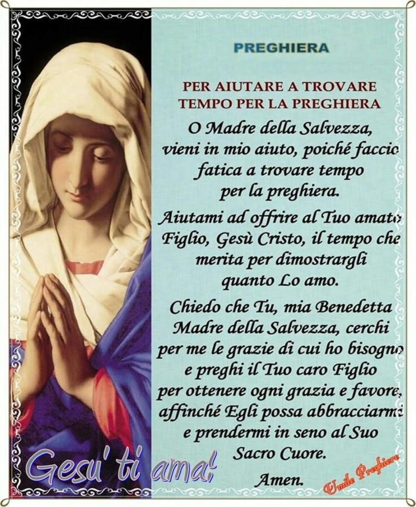 Immagini Preghiere Madonna Maria (1)
