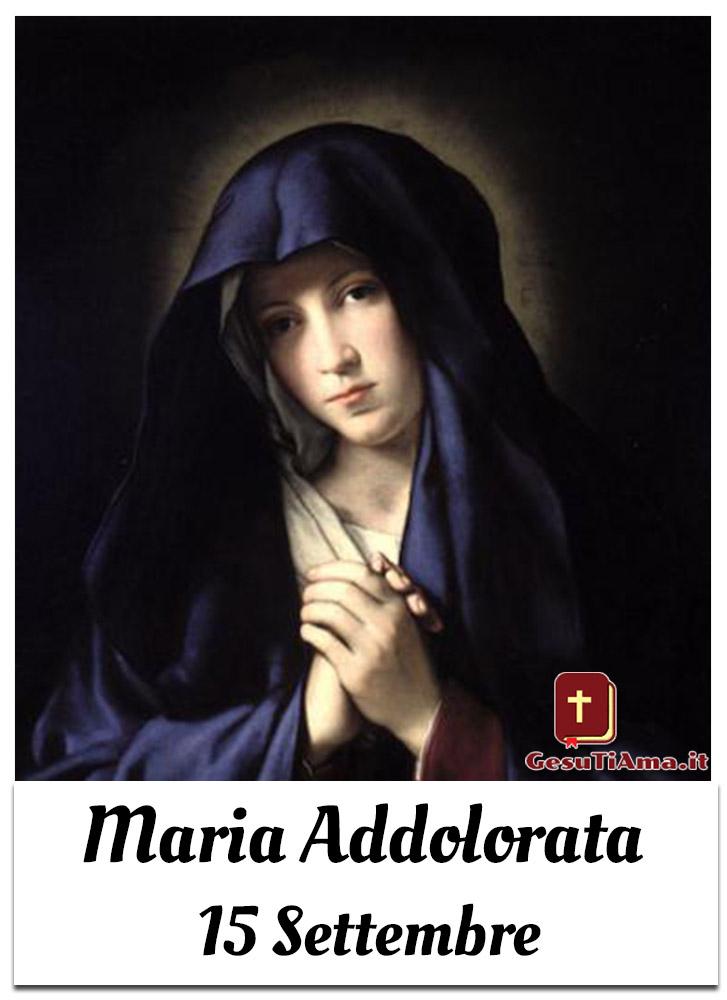 Maria Addolorata 15 Settembre immagini religiose