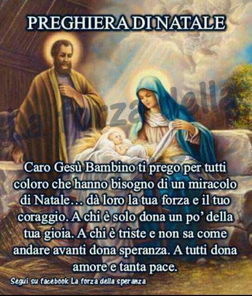 Preghiera di Natale