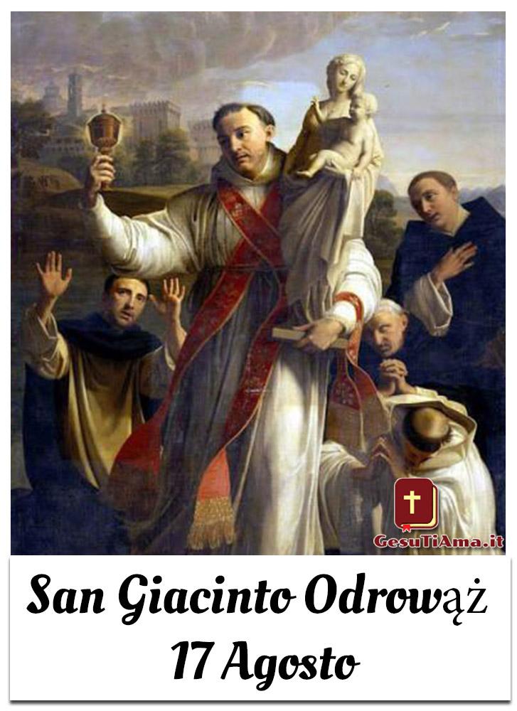 San Giacinto Odrovaz 17 Agosto