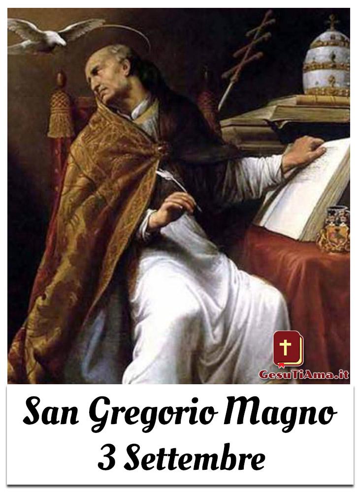 San Gregorio Magno 3 Settembre