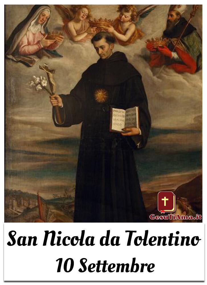 San Nicola da Tolentino 10 Settembre Santo del Giorno