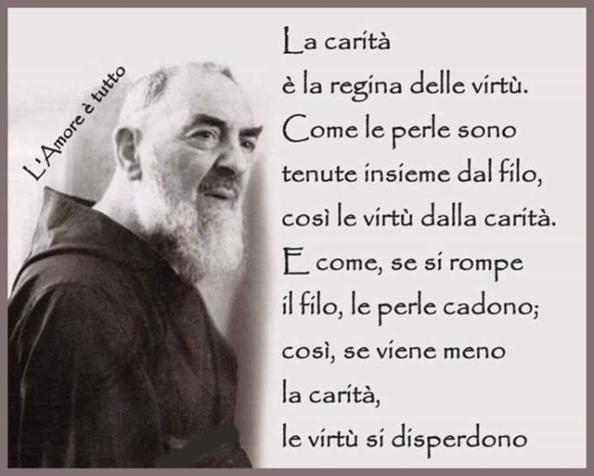 San Pio immagini con frasi