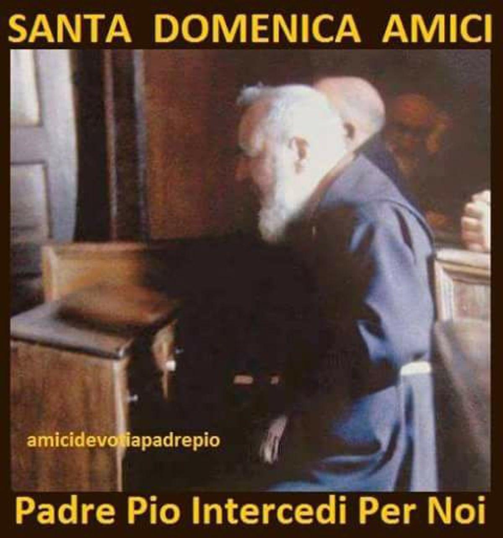 Santa Domenica con Padre Pio bellissime immagini