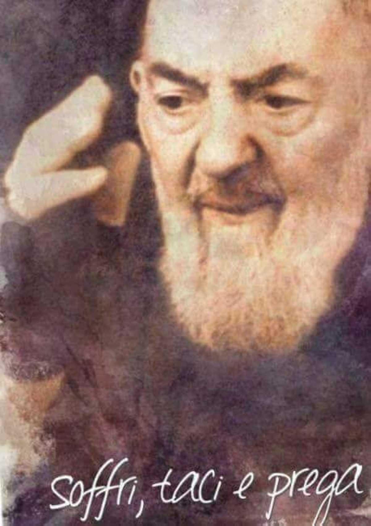 Soffri Taci Prega aforismi Padre Pio
