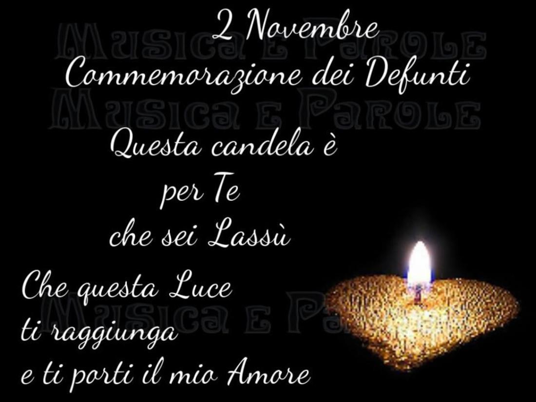 Commemorazione dei Defunti 2 Novembre immagini per Facebook