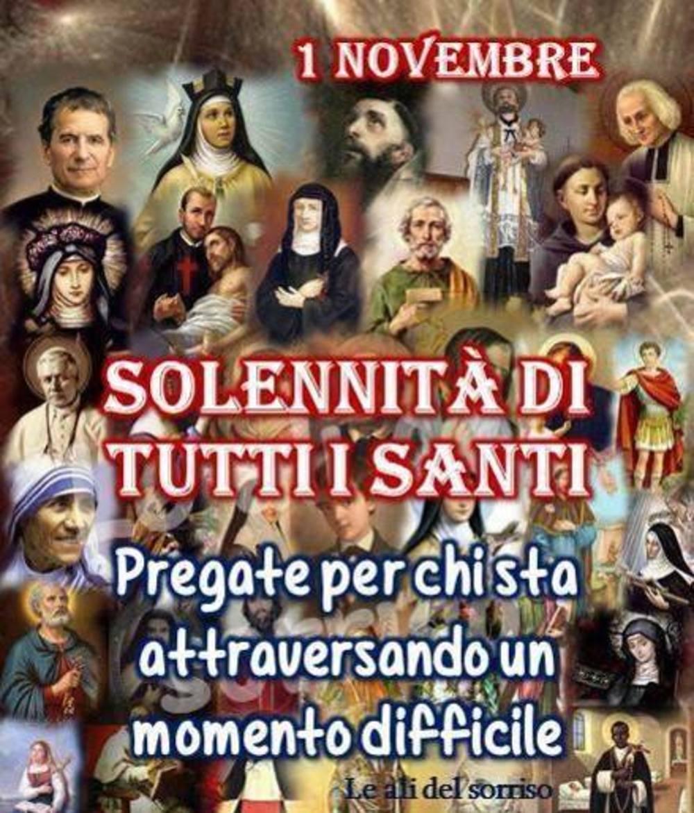 Risultati immagini per 1° novembre tutti i santi