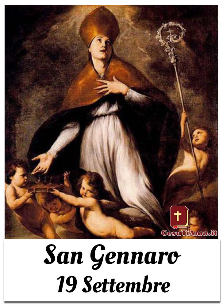 San Gennaro 19 Settembre immagini sacre belle