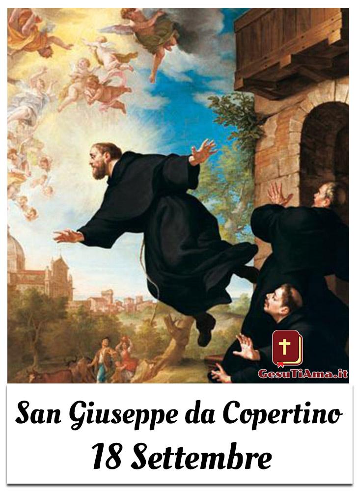 San Giuseppe da Copertino 18 Settembre