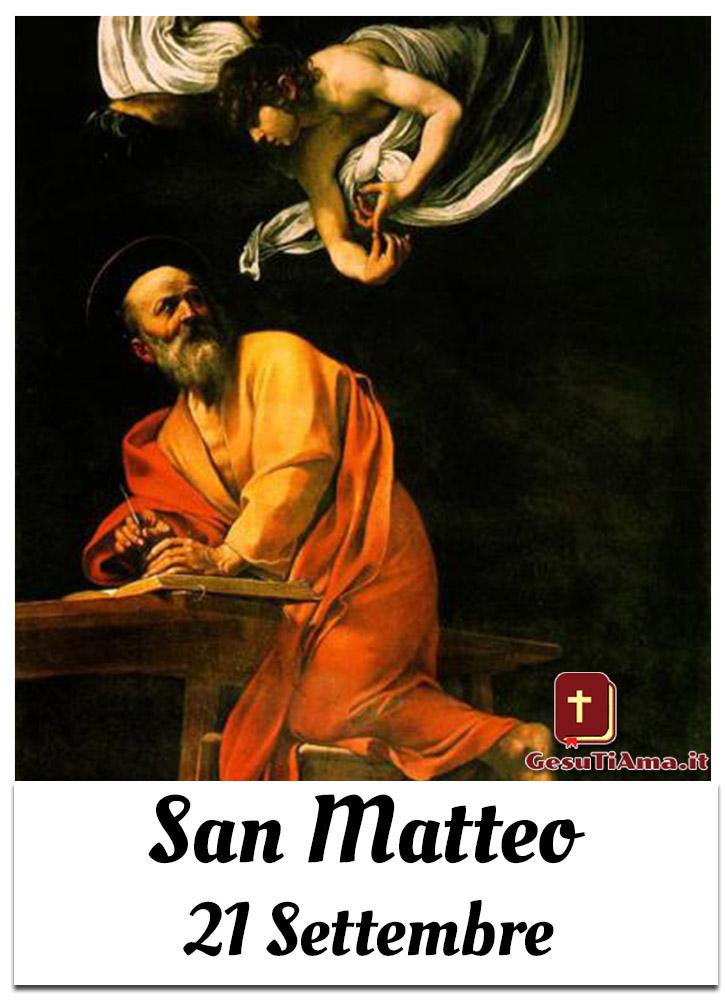 San Matteo 21 Settembre Apostolo ed Evangelista