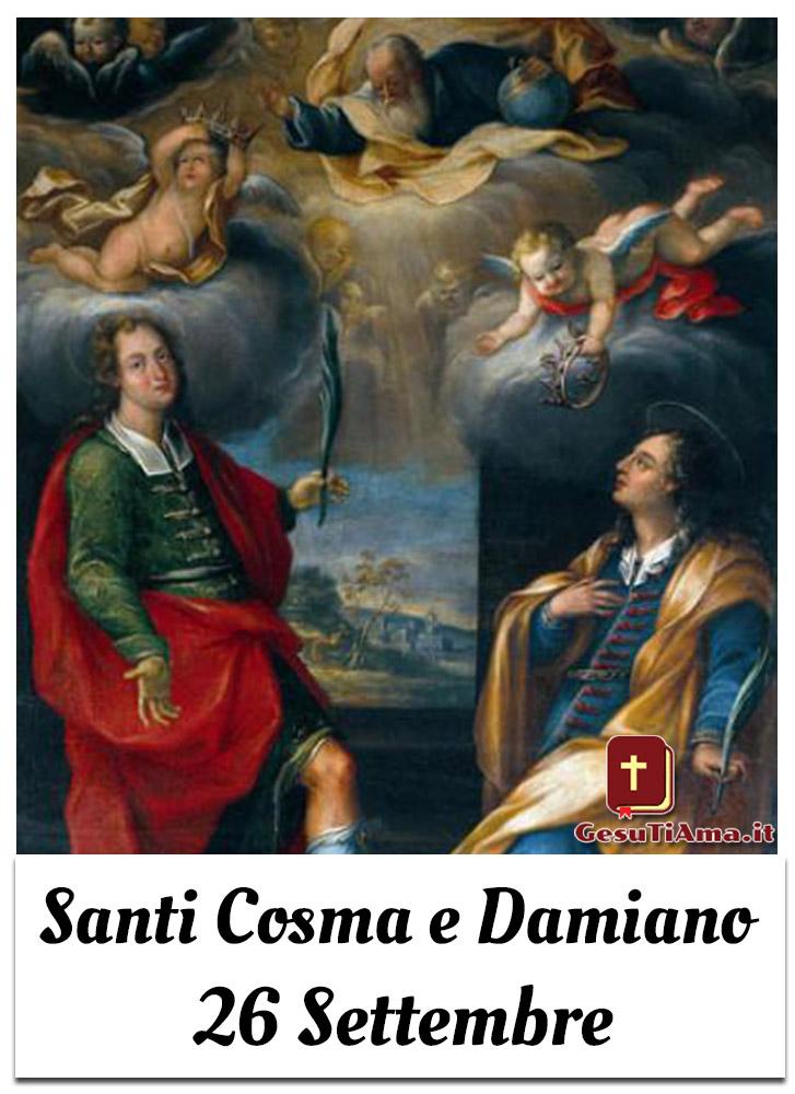 Santi Cosma e Damiano 26 Settembre le belle immagini