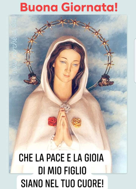 Buongiorno immagini religiose con Maria 2
