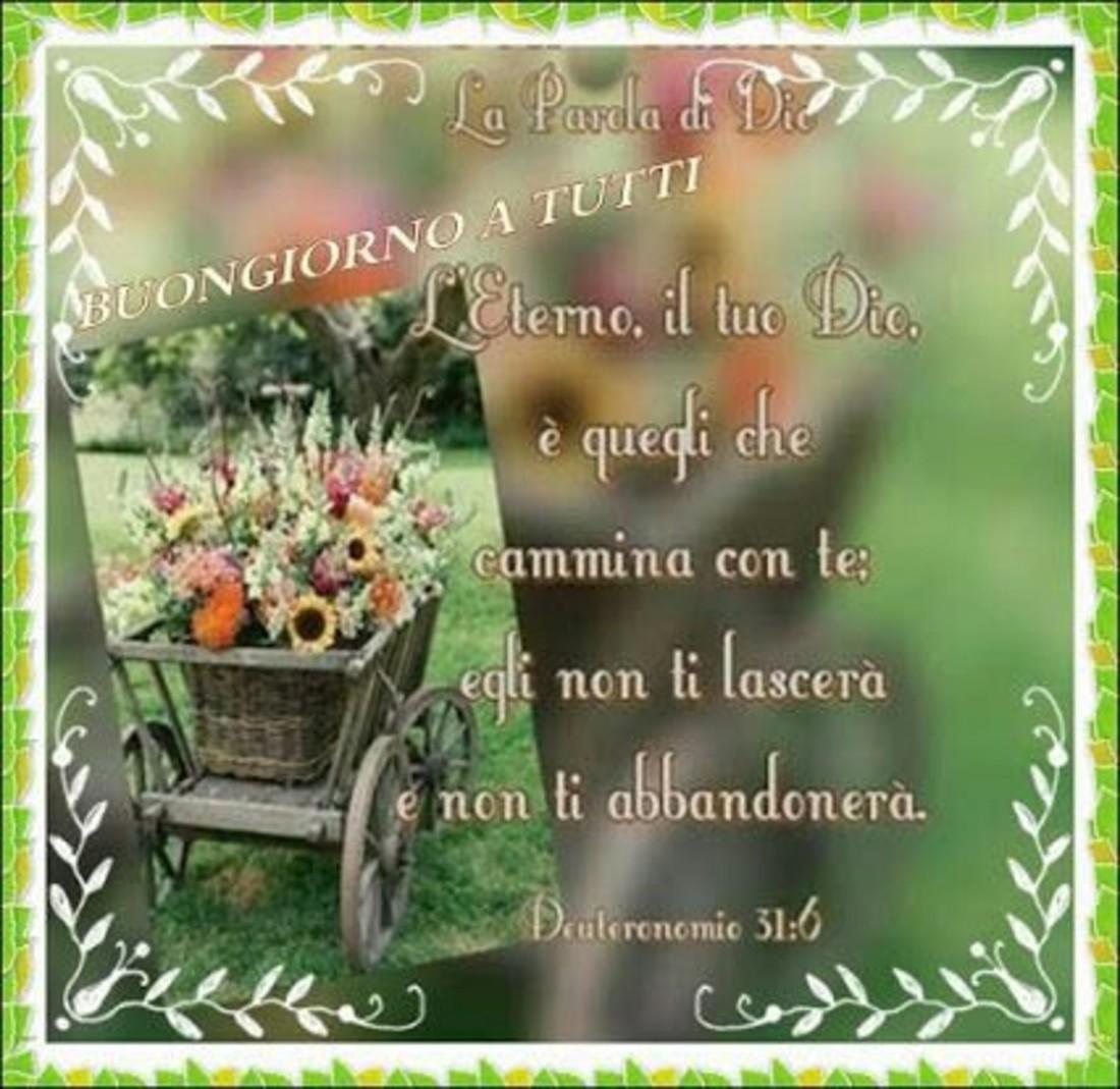 Immagini Buongiorno con i versetti della Bibbia 7