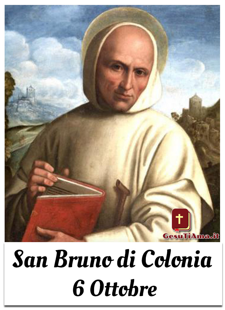 San Bruno di Colonia 6 Ottobre immagini religiose Pinterest