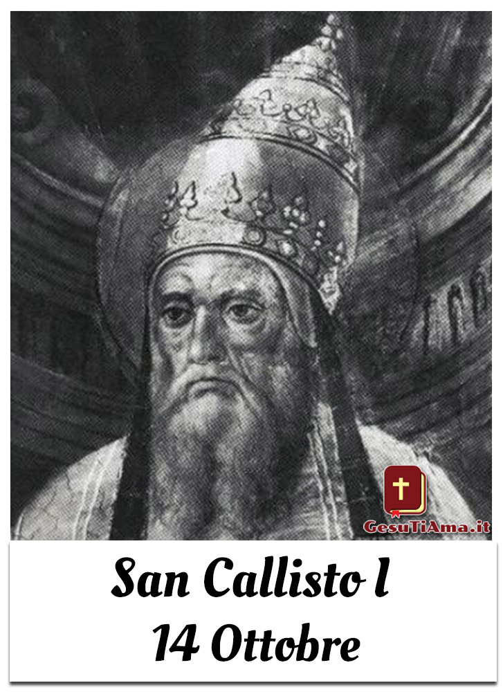 San Callisto I 14 Ottobre