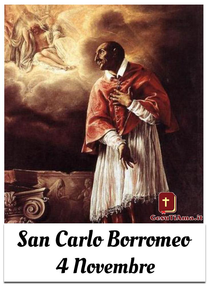 San Carlo Borromeo 4 Novembre immagini religiose Facebook