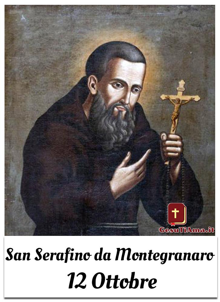 San Serafino da Montegranaro 12 Ottobre
