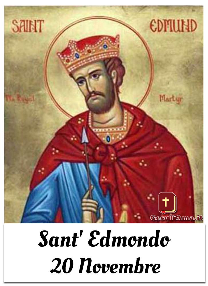 Sant' Edmondo 20 Novembre