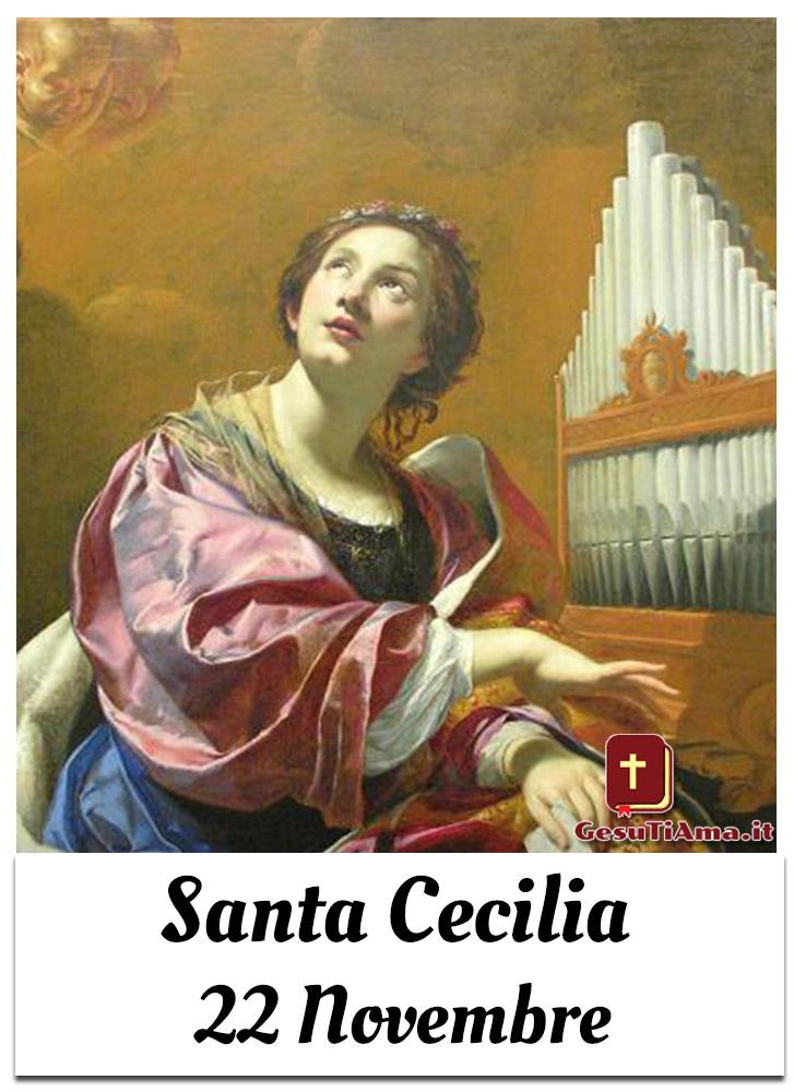 Santa Cecilia 22 Novembre Santi e Beati del mese