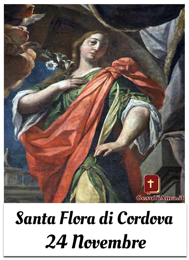 Santa Flora di Cordova 24 Novembre immagini Pinterest