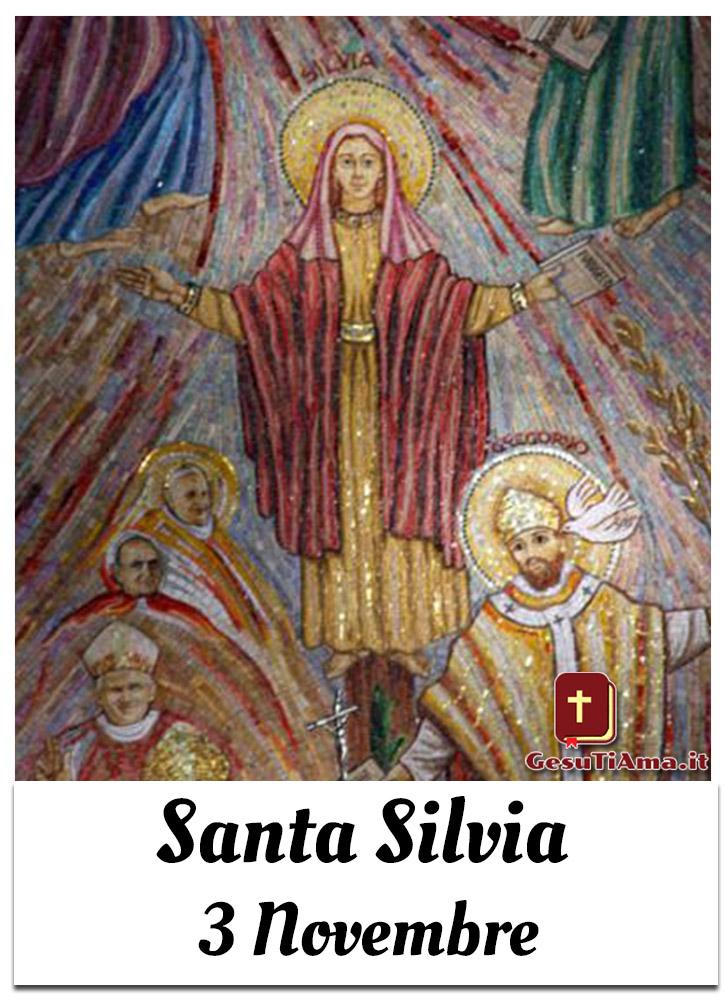 Santa Silvia 3 Novembre immagini sacre nuove