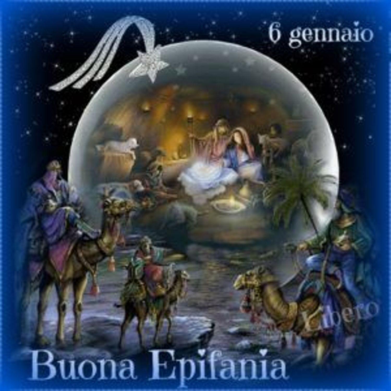 6 Gennaio Buona Epifania con i Re Magi e Gesù Bambino