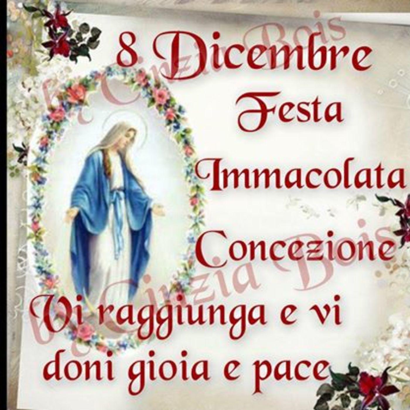 8 Dicembre Festa Immacolata Concezione