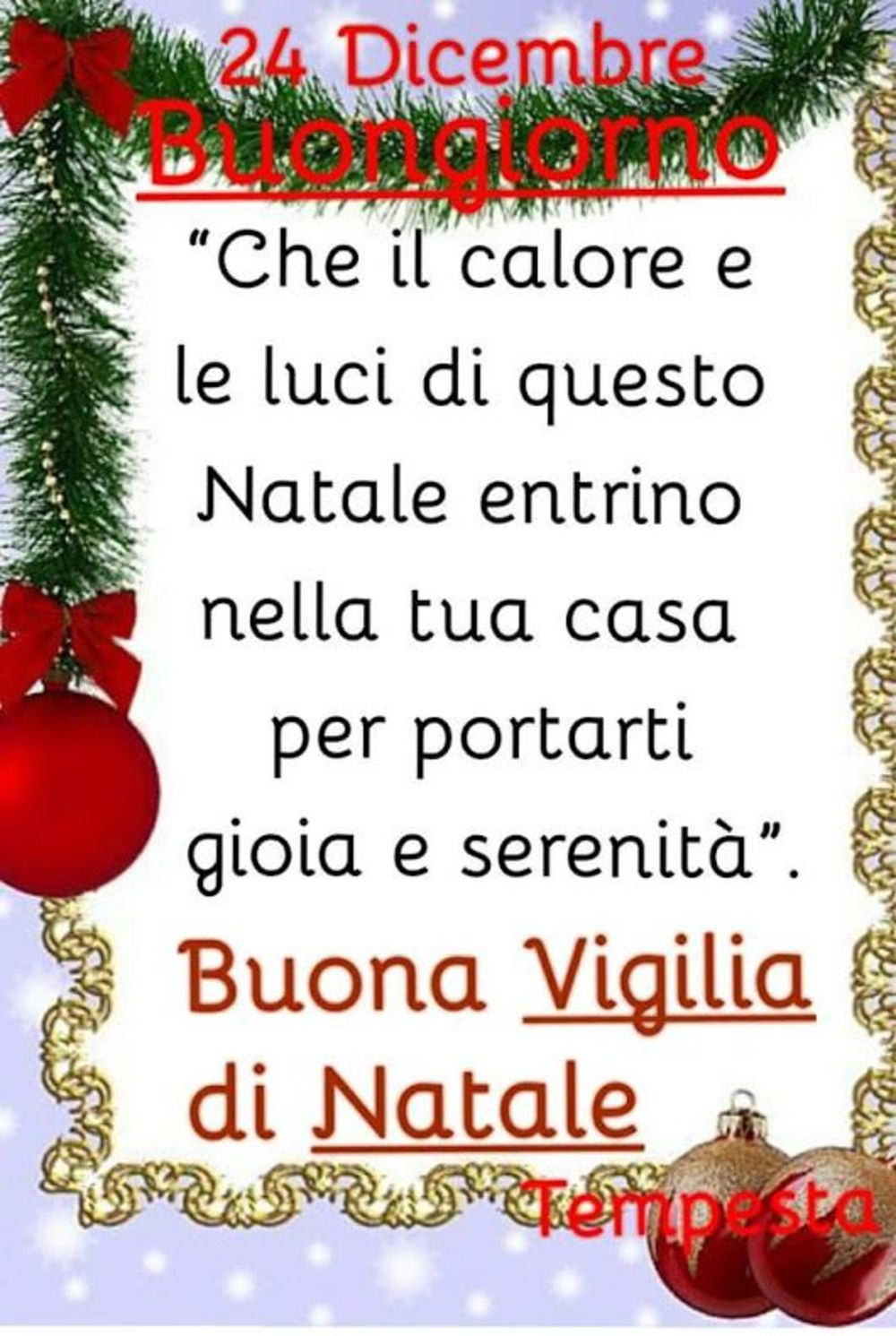 Frasi Religiose Per Natale.Belle Frasi Per Vigilia Di Natale Gesutiama It