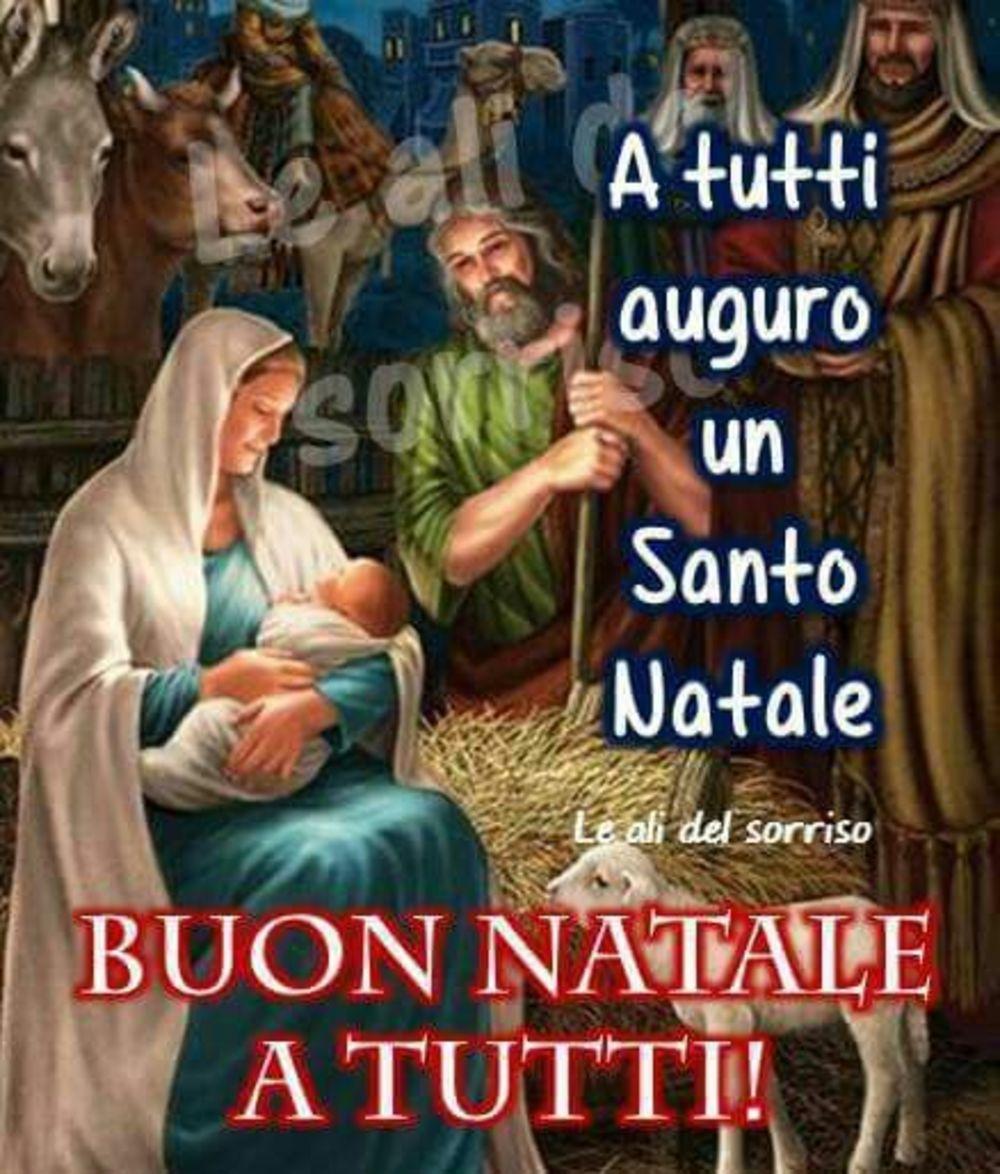 Buon Santo Natale.Buon Natale Con Gesu Gesutiama It
