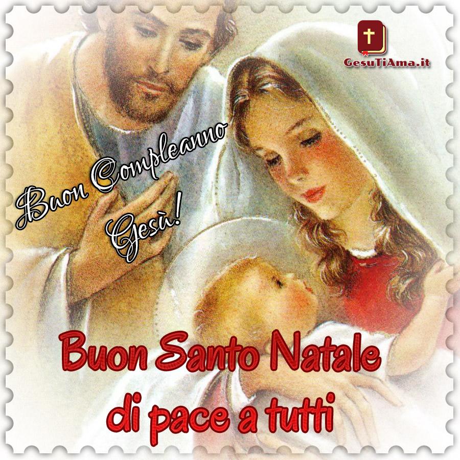 Buon Santo Natale a tutti immagini religiose nuove