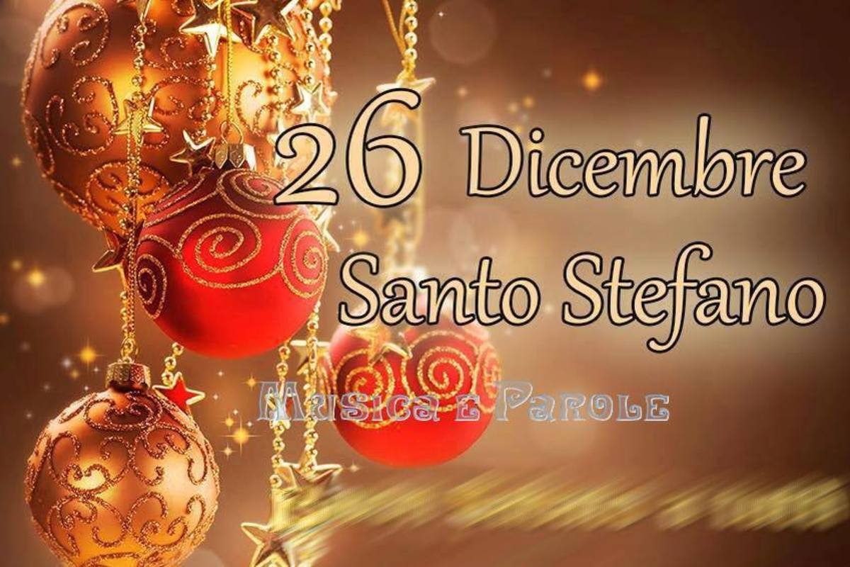 Buon Santo Stefano Pinterest