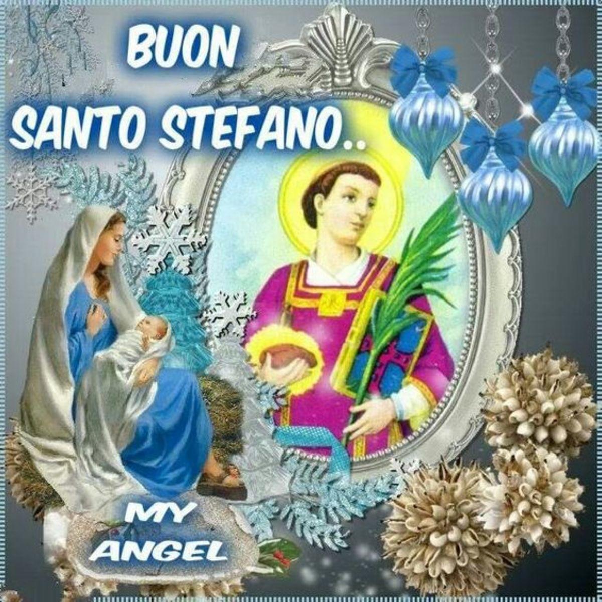 Buon Santo Stefano immagini religiose